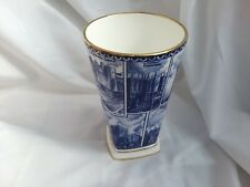 Ringtons Blue and White Landmarks Vase Excellent Condition