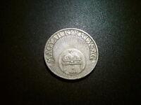 1926 HUNGARY 20 FILLER COIN. EXCELLENT GRADE EF