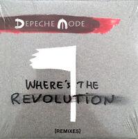 Depeche Mode Maxi CD Where's The Revolution [Remixes] - Europe (M/M)