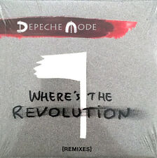Depeche Mode ‎Maxi CD Where's The Revolution [Remixes] - Europe (M/M)