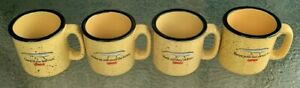 4 DIFFERENT, RAPALA FISHING LURES, LARGE COFFEE MUGS / CUPS