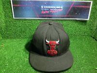 Vtg 90s Chicago Bulls new era hwc 7 3/4 NBA basketball Flexfit Cap sports film