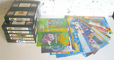 VHS STOCK WALT DISNEY - 17 VHS CARTONI E FILM + COVER NO BOX