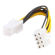 ATX 4 Pin to 8 Pin EPS Power Supply Cable Adapter, 6inch (#99229)