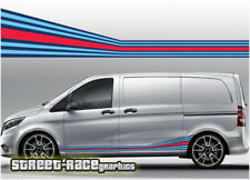 Mercedes Vito Martini 004 side racing stripes vinyl graphics stickers decals