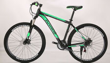 Brand New 2018 Cyber Black&Green  29er 21 SP Shimano system Mountain bike