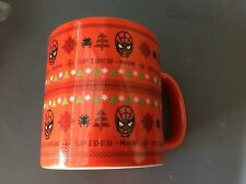 VANDOR UGLY SWEATER MUG CUP 20 OZ SPIDERMAN RED NEW NO BOX
