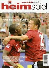 Programm Stadionheft | SC Freiburg - 1899 Hoffenheim | 16.09.12 | Derby | NEU