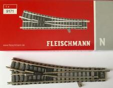 Fleischmann N 9171 Railroad Track Right Length 111 Mm OVP