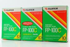 【NEW *Expired 3Packs】Fujifilm Fuji FP-100C Instant Color Film from JAPAN