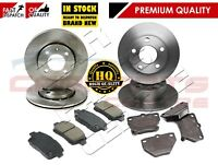 FOR TOYOTA YARIS 1.5 T SPORT T-SPORT FRONT & REAR BRAKE DISCS & PADS 2001-