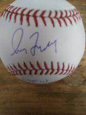 Greg Maddux  STAT Signed Autographed OML Baseball Braves MLB Certified