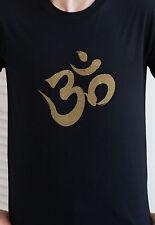 Ohm Om Aum Yoga Budismo Meditación Camiseta Mandala Hindú sánscrito Zen para hombre Tee