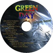 GREEN DAY GUITAR BACKING TRACKS CD BEST GREATEST HITS MUSIC PLAY ALONG ROCK PUNK