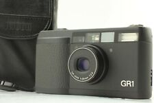 [MINT] Ricoh GR1 Black 35mm Film Camera Body only from JAPAN 2177