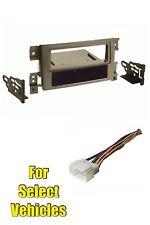 Tan 06-12 Suzuki Grand Vitara Single Din Car Stereo Radio Install Dash Kit Combo