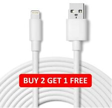 USB Lightning fast Charger 2.1A Cable Lead For i 3GS 4S 5S 6 7 8 X XR 11 Pro