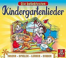 Die beliebtesten Kindergartenlieder zum Tanzen, Spielen, L... | CD | Zustand gut