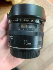 Canon EF 15mm f/2.8 L Lens PLEASE READ
