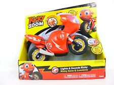 Ricky Zoom LIGHTS & SOUNDS RICKY Motorcycle 8 Phrases Light Up RESCUE VISOR New