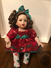 "Merry Kisses Marie Osmond Doll 5"" Seated"