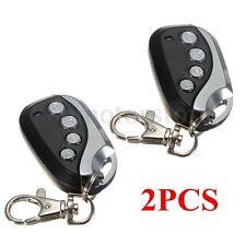 2x 433,92MHz Control Remoto Puertas Garaje Mando Llave Rolling Code NICE FLOR-S