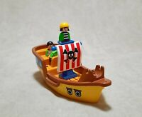 Playmobil Geobra Pirate Ship Incomplete Set Germany