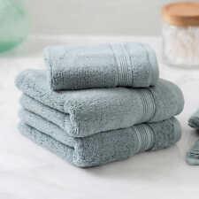 Charisma Soft  Hygro Cotton Four piece Bath Towel Set Color Lt Green