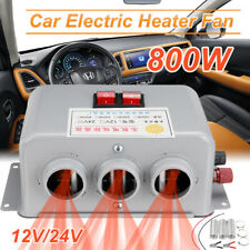 DC 12V 24V 800W Car Fan Heater Rapid Heating Warm Windscreen Defroster Demister