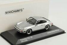 Porsche 911 SC Carrera Coupe silber 1979 1:43 Minichamps