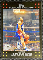 2007-08 LeBron James Topps #23 Cleveland Cavaliers