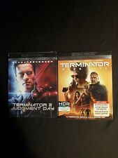 Terminator 2, Judgment Day, &Terminator Dark Fate, 4K Ultra Hd +Slipcover, No Di