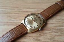 Men's Vintage Gold Plated Zenith Auto Sport Automatic Wrist Watch