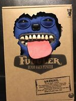 Spin Master FUGGLER Funny Ugly Monster Blue Plush Teeth Tongue  Sir Belch New