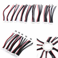 10Pcs 2-6S Balance Charger Silicone Wire JST-XH Connector For RC Battery Kits❤lo
