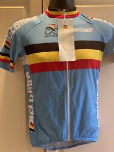 BIO-RACER  Short Sleeve Jersey From Belgian National Cycling Team NEW!