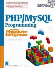 New - Php/MySql Programming for the Absolute Beginner by Harris, Andy