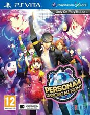 Persona 4 Dancing All Night PS Vita * NEW SEALED PAL *