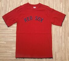 Boston Red Sox Cooperstown Collection Shirt ~ Men's Small S Medium ~ Red MLB