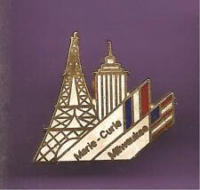 Pin's pin MARIE CURIE MILWAUKEE (ref CL13)