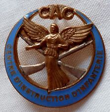 insigne CAC 19° RTA Constantine Compagnie Instruction Infanterie Tirailleurs Alg
