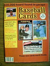 weekend sales BASEBALL CARDS MAG 6/86 3 53 BOWMAN REPLI-CARDS INCL'D MARIS MANIA