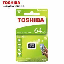 Toshiba 64GB M203 MicroSD Schede di Memoria UHS-I Class 10 100MB/s