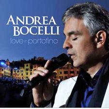 Andrea Bocelli - Love In Portofino NEW CD + DVD