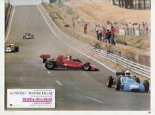 AL PACINO BOBBY DEERFIELD 1977 VINTAGE LOBBY CARD ORIGINAL #16 FORMULA 1