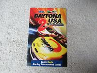 DAYTONA USA 2 RACING GUIDE     arcade game manual
