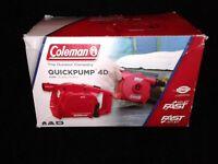 Coleman QuickPump 4D Pump Fast Inflate/Deflate