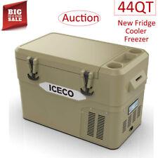 New listing 44Qt Portable Car Fridge Freezer Electric Cooler Refrigerator Travel Outdoor