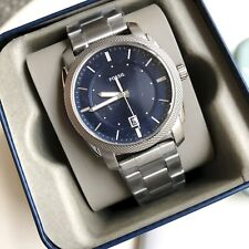 Fossil Watch * FS5340 Machine Date Blue Dial Silver Steel COD PayPal