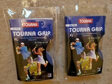 New Tourna Grip Original Xl10 Pack Tennis Grips. - Lot Of 2 New Sealed Packs